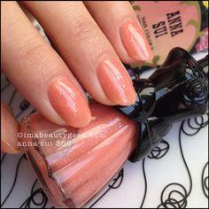 Glittering Nail Polish - 307 PINK MOTHER OF PEARL