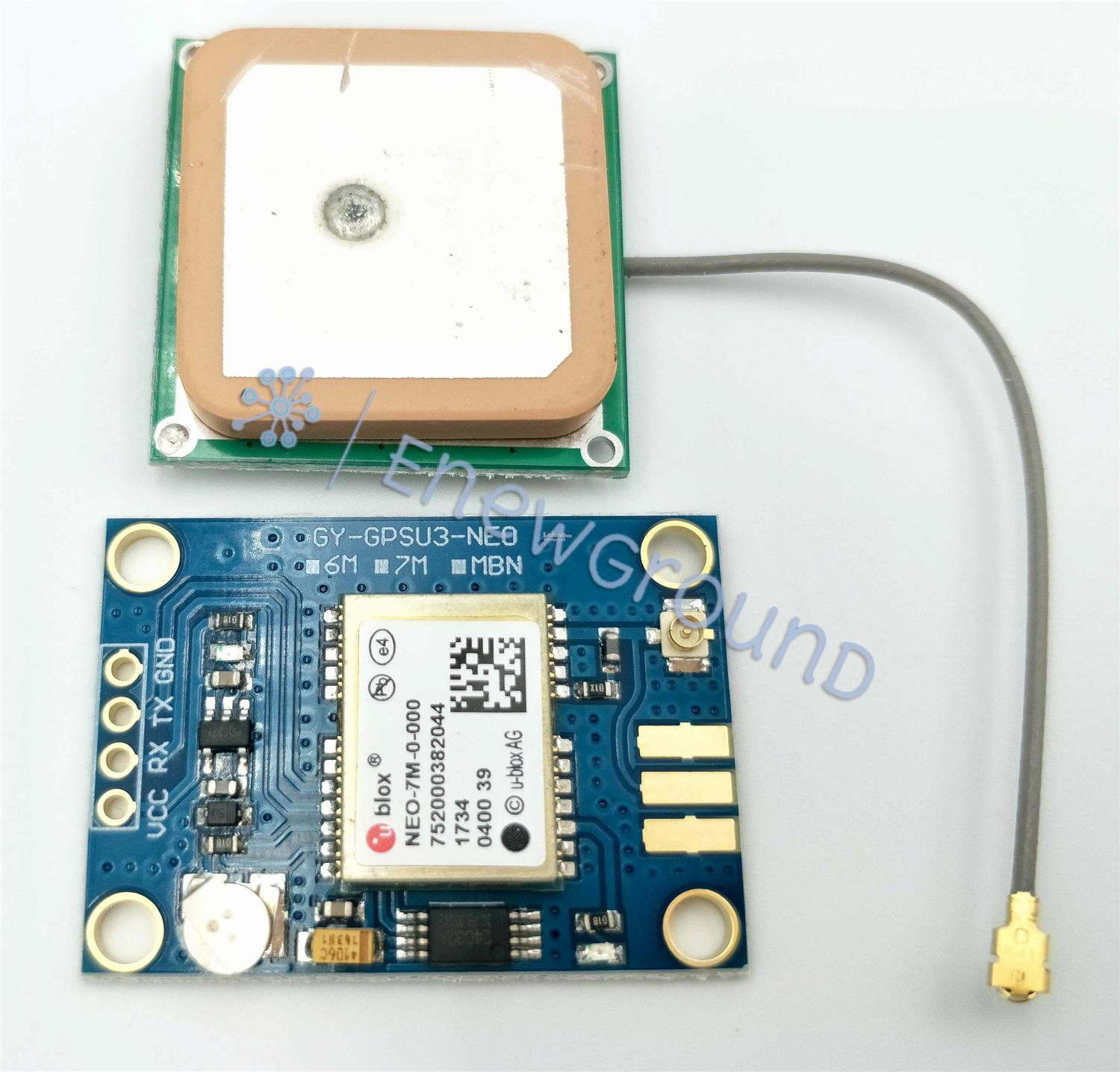 Global positioning system (GPS) module (GY-NEO7MV3, NEO-7M)