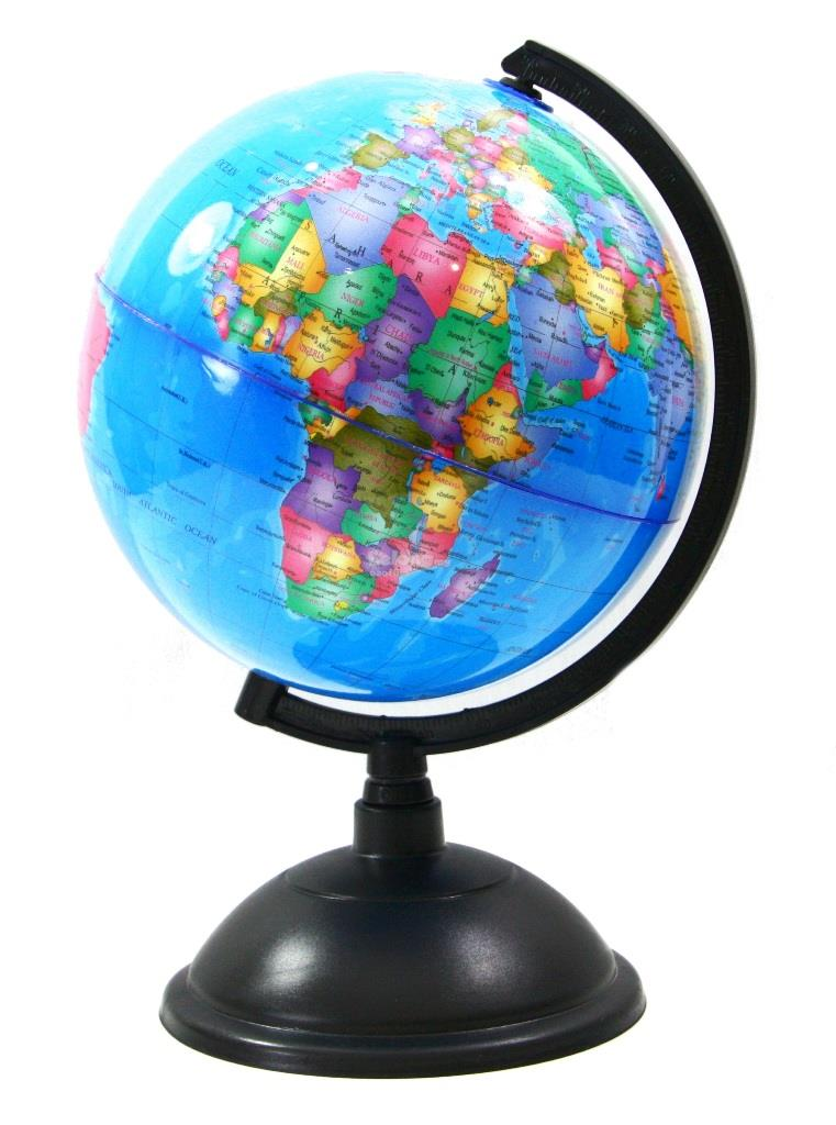 Globe Diameter 20cm Sfera Bumi Sphera Earth Shape Map