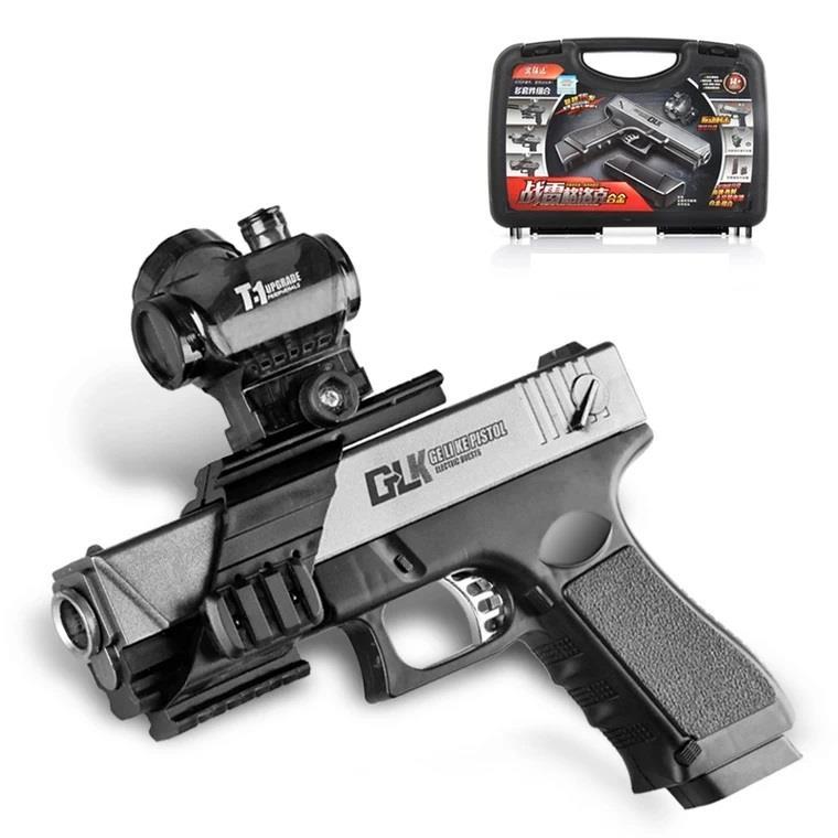 Glock G18 Gel Bullet gun toy gun Electric Blowback jelly Crystal