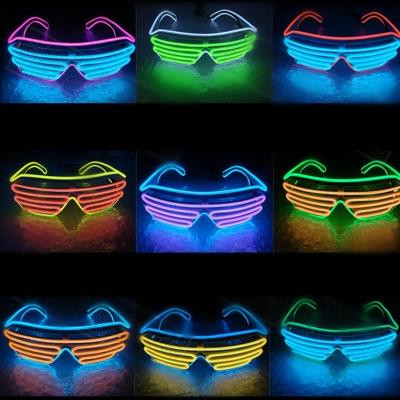 Glow Glasses El Wire Fashion Neon LED (end 4/3/2018 2:15 PM)