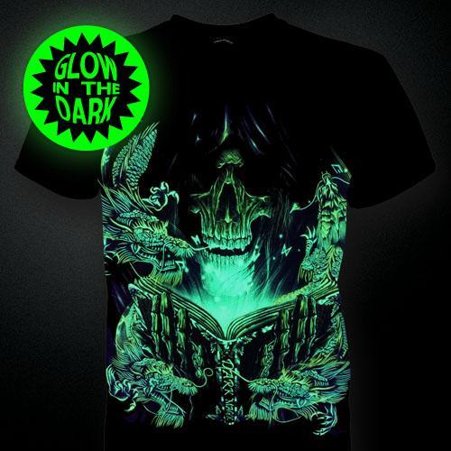Glows In The Dark Print T Shirt Hd End 10 22 2017 10 04 Pm