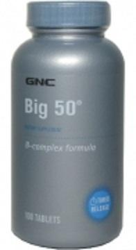 GNC Time Release B Complex+Folic+Biotin 300Tabs (Health+ENERGY+stamina