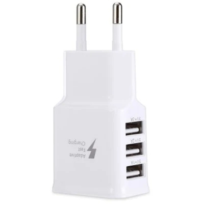 gocomma Universal 2A 3 USB Ports Multifunctional Travel Charger Adapte..