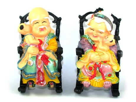 God and Goddess of Longevity - Feng Shui Gift for Father/Mother/Grandp
