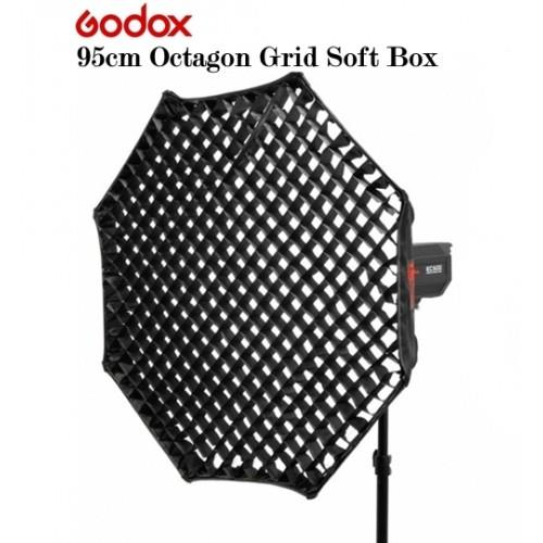 37 Octagon Honeycomb Grid Softbox With Flash Mounting For: GODOX 95 Cm Octagonal Softbox & Hone (end 5/19/2018 2:37 PM