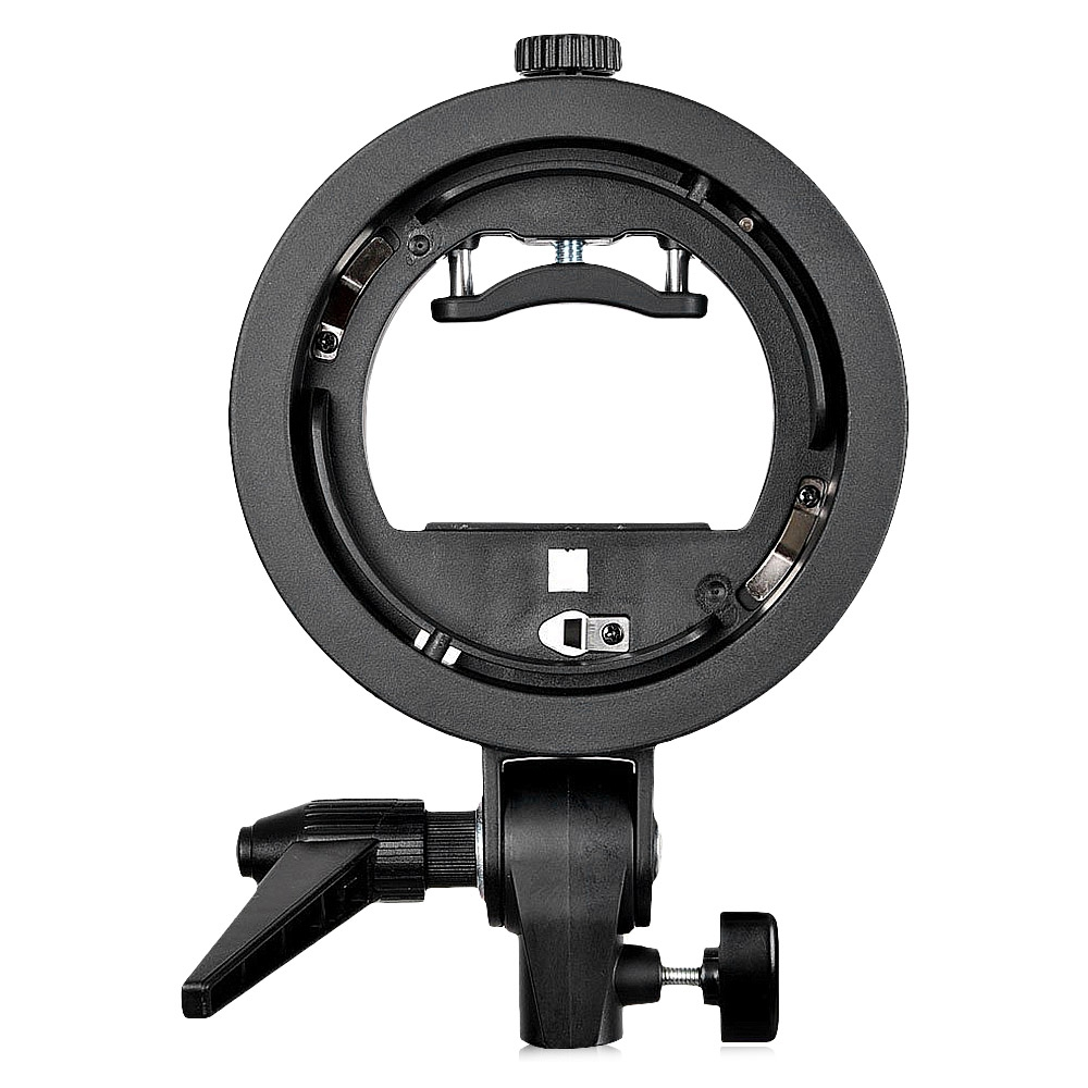 GODOX DURABLE PLASTIC S-TYPE S - EC MOUNT PHOTOGRAPHY FLASH BRACKET
