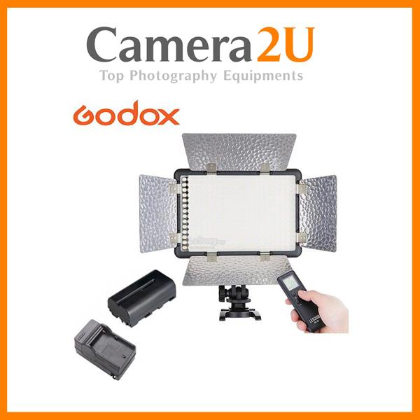 Godox LED308C II LED Video Light 3300K~5600K FREE Batt & Charger