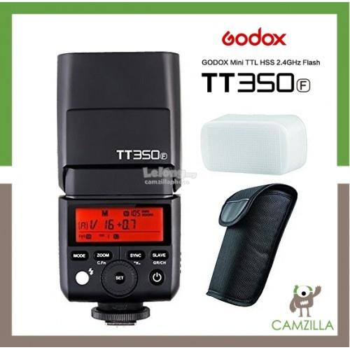 Godox Mini TT350 HSS 1/8000s Flash TTL Speedlite For Fujifilm