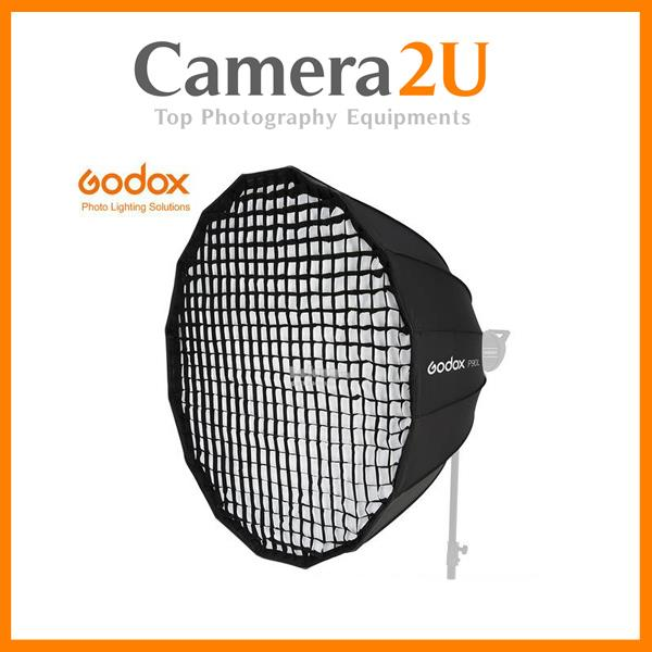 Godox P120L 120cm Deep Parabolic Softbox with Grid