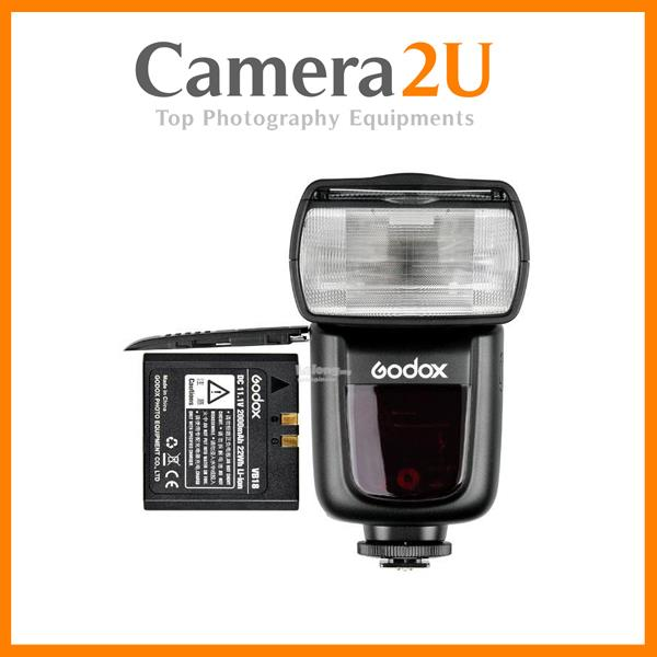 Godox V860II-C E-TTL HSS Speedlite for Canon Free Battery & Charger