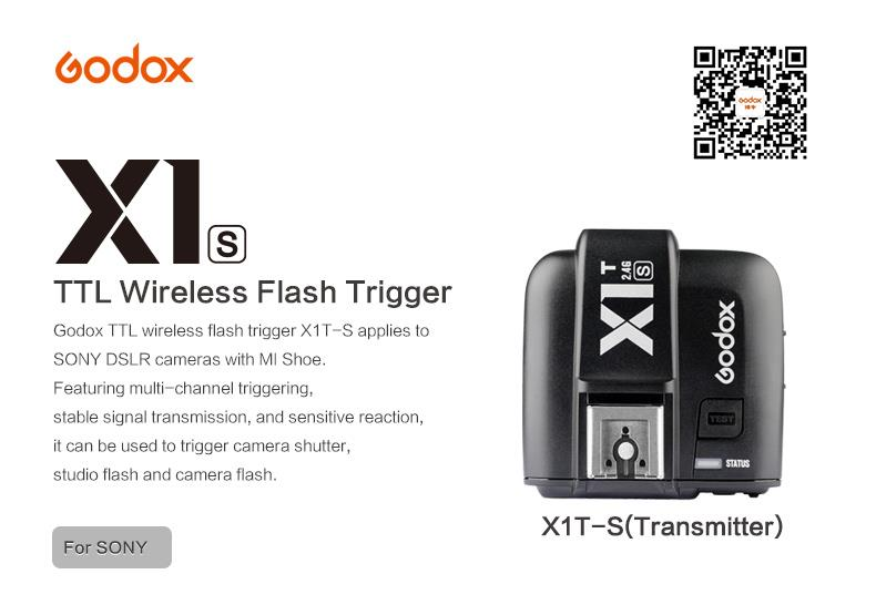 Godox X1T-S TTL Wireless Flash Trigger