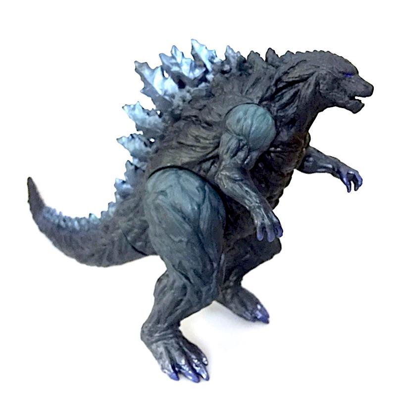 Godzilla dinosaur toy 16cm height pvc dragon head monster model figure