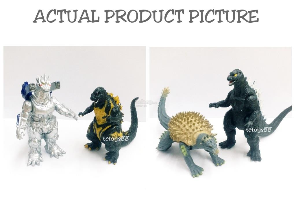 NEW GODZILLA FIGURE GODZILLA TOY KAIJU BATTLE MONSTER FIGURES RAKSAKSA