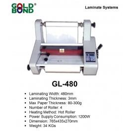 GOLD BOND GL-480 ROLL LAMINATOR