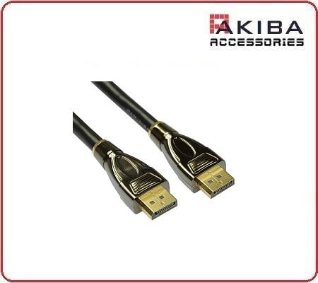 Gold Plated Long DisplayPort to DisplayPort Cable 10m