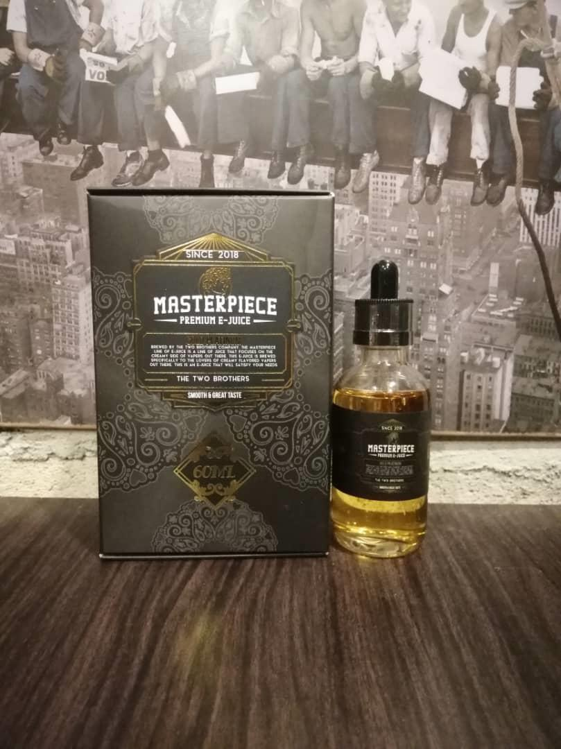 Gold Platinum Masterpiece (6MG&12MG&18MG@60ML)E Liquid Vape Juice