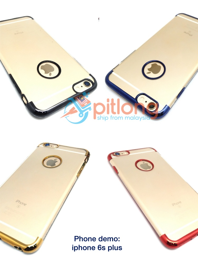 ( GOLD ) Transparent Color Soft Tpu Slim Case For OPPO A83