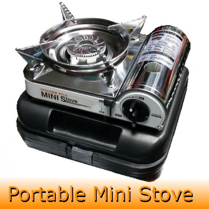 Golden Fuji Mini Gas Stove Steamboat Sukiyaki Camping Fishing Cooker