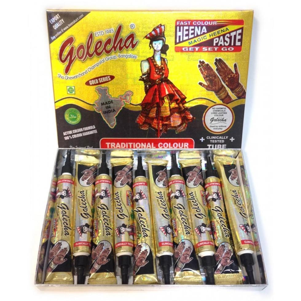 Golecha Black Henna Tubes Pack Of 10 End 1 25 2020 1 05 Am