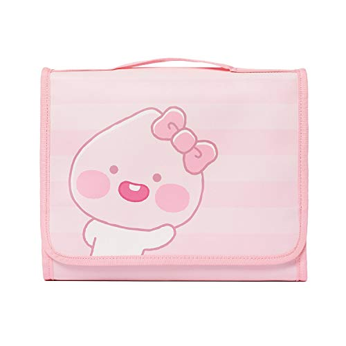 [Good Choice]KAKAO FRIENDS Official- Lovely Apeach Cosmetic Pouch with inside