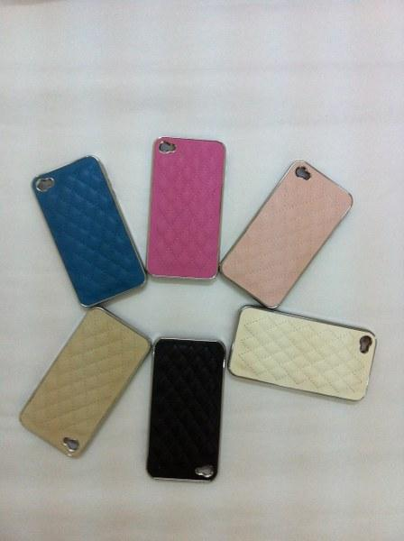 Good quality assorted colours iphone 4/4s cover