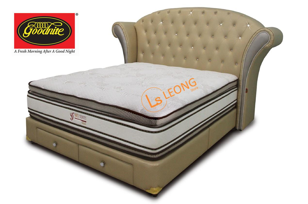 Goodnite cs8811 queen king size headboard divan only bed frames