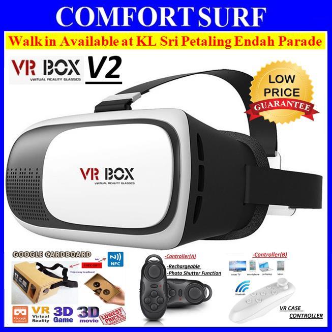 a26e2aebeb4 Google Cardboard DIY 3D VR BOX V2 (end 11 18 2019 11 24 PM)