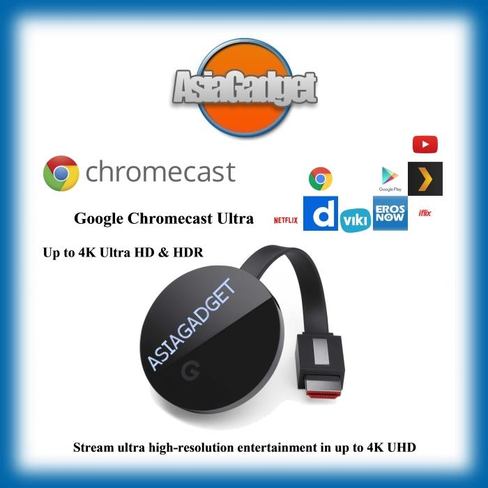 NEW Google Chromecast Ultra 4K
