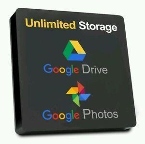 Google Drive Unlimited Storage (Lifetime Access) 100% Guarantee