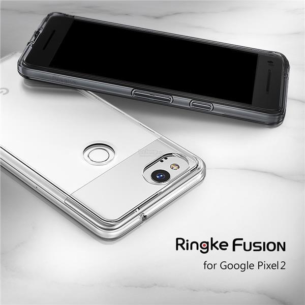 uk availability 4b06e bf252 Google Pixel 2 & Pixel 2XL 2 XL - Ori Rearth Ringke Fusion Case