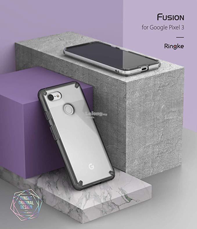 on sale 80827 b5612 Google Pixel 3 & 3 XL - Ringke Fusion TPU Bumper Case