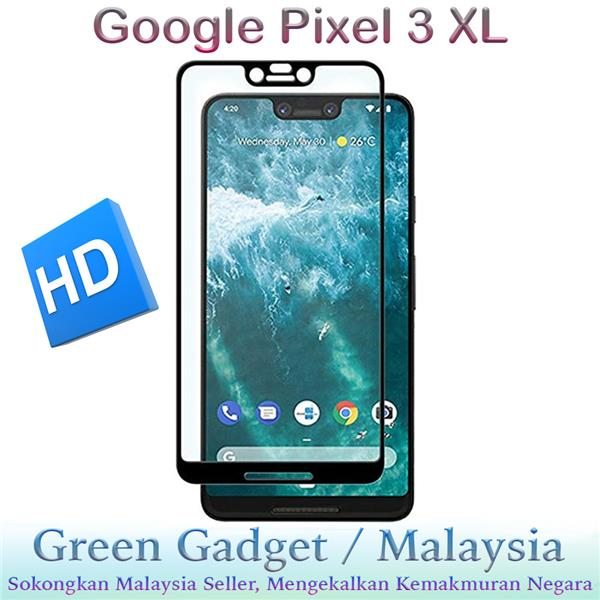 Google Pixel 3 XL Full Glue Screen Protector Tempered Glass