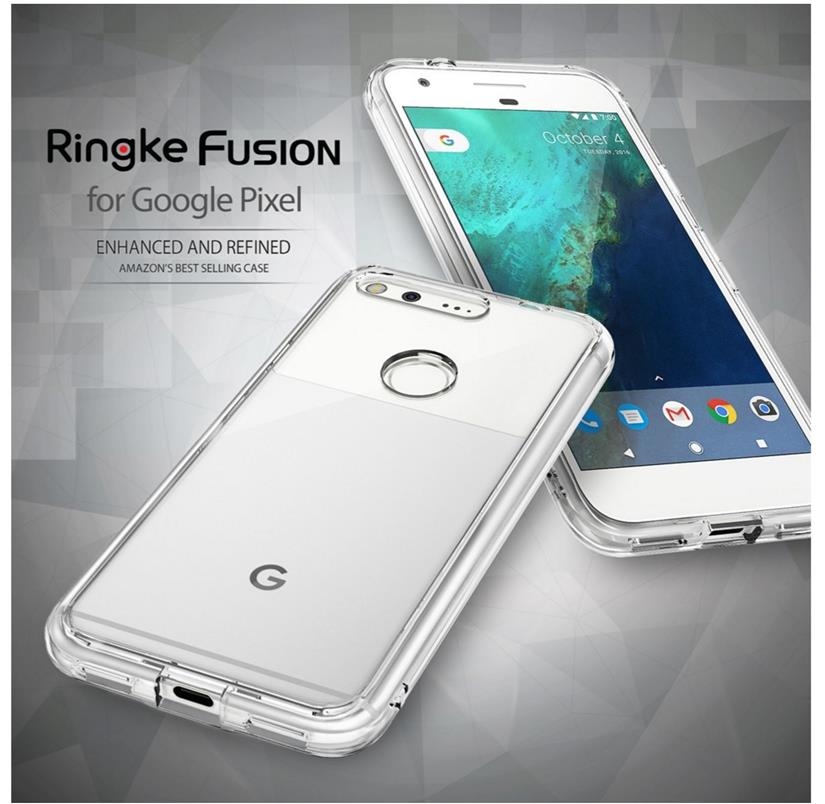 best service 7a6fc b92be Google Pixel / Pixel XL Original RINGKE Fusion Case Cover Casing