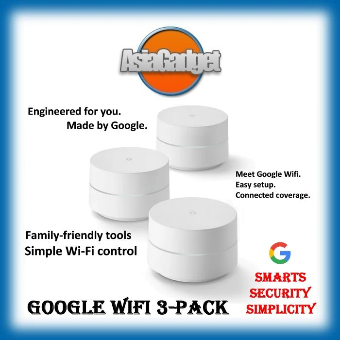Google Wifi Home Mesh Wi-Fi System – 3 pack