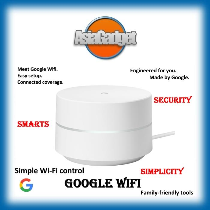 Google Wifi Home Mesh Wi-Fi System