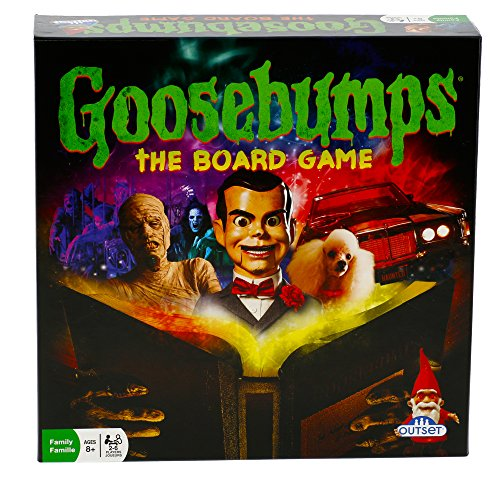 Goosebumps Movie Game - Thrilling Family Board Game - Battle Each Other In A F