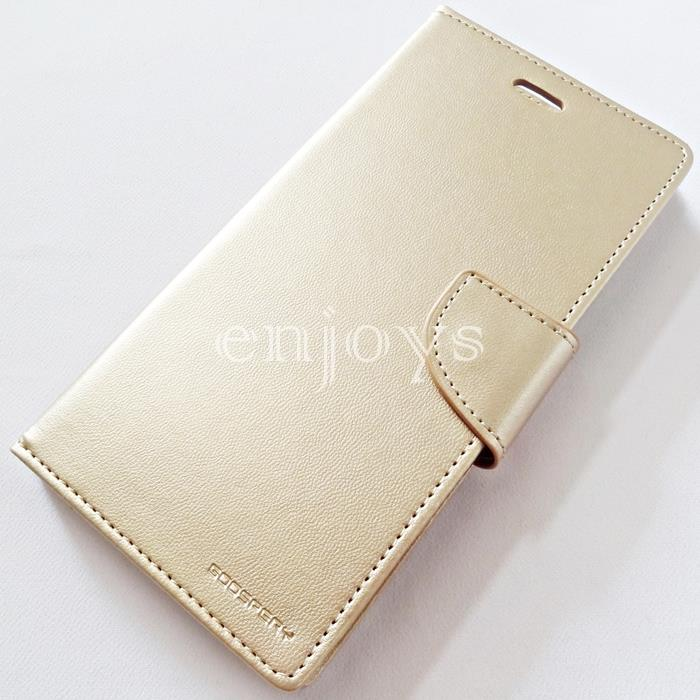 GOOSPERY BRAVO Diary Case Cover Apple iPhone 6 6S Plus (5.5) GOLD *XPD
