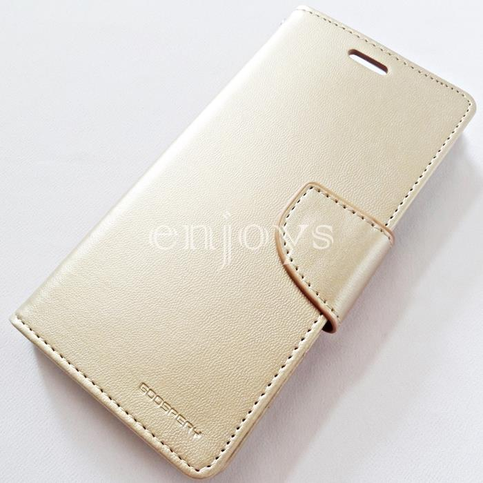 GOOSPERY BRAVO Diary Case Flip Cover Huawei P10 Lite (5.2) ~GOLD *XPD