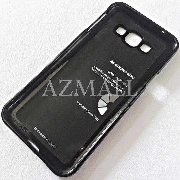 GOOSPERY Pearl Jelly TPU Back Case Cover Samsung Galaxy A8 /A800F *BLK
