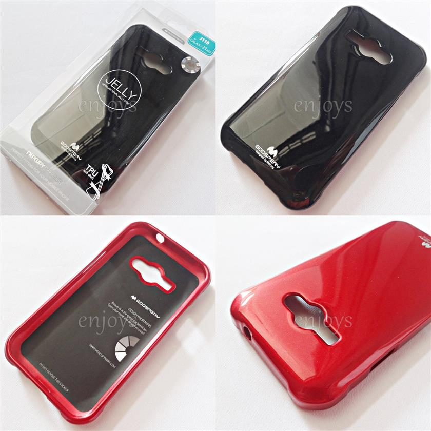 GOOSPERY Pearl Jelly TPU Case Cover Samsung Galaxy J1 Ace / J110G