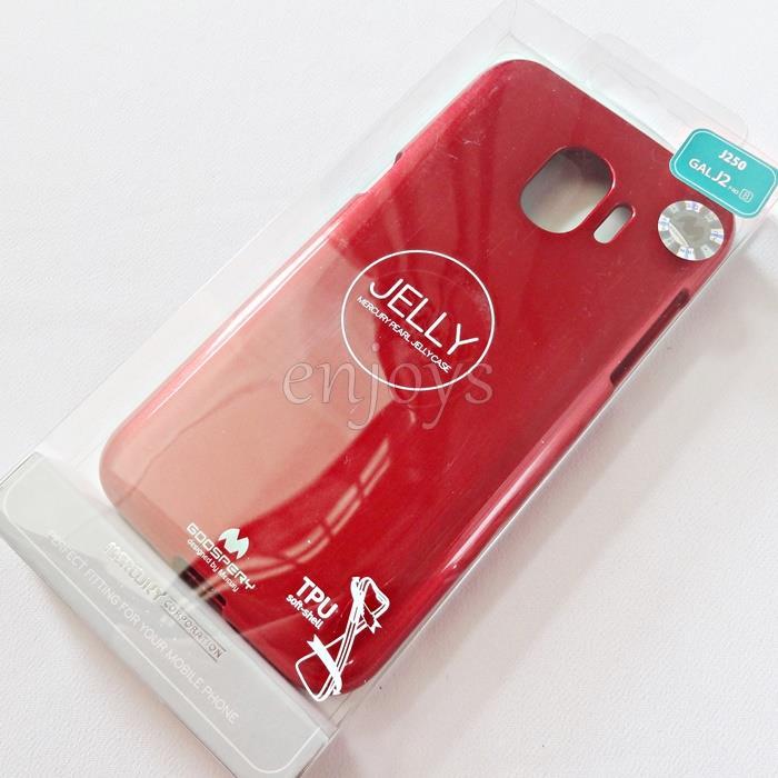buy popular 23b0d 6ba18 GOOSPERY Pearl Jelly TPU Case Cover Samsung Galaxy J2 Pro (2018) J250F
