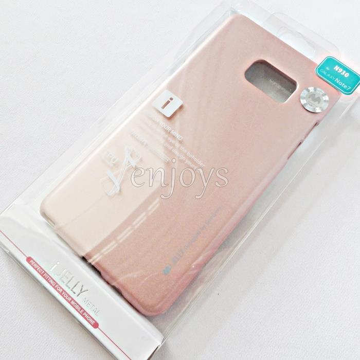GOOSPERY Pearl Jelly TPU Case Cover Samsung Galaxy Note FE /N935F *XPD