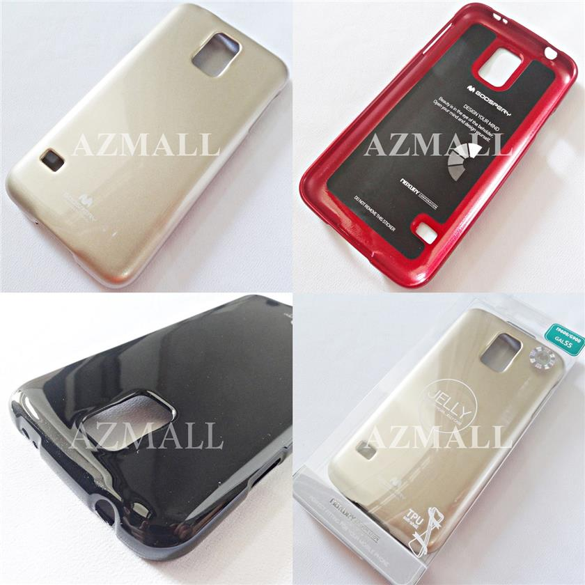 check out 09d4a 26ff2 GOOSPERY Pearl Jelly TPU Back Case Cover Samsung Galaxy S5 /G900F