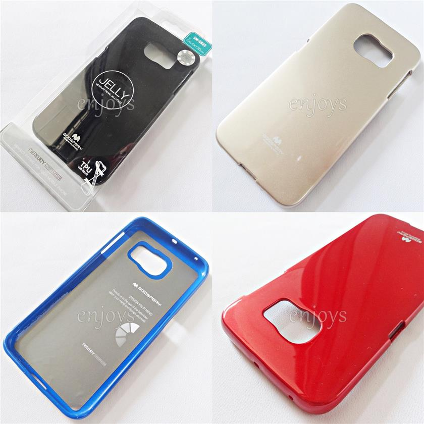 GOOSPERY Pearl Jelly TPU Case Cover Samsung Galaxy S6 Edge / G925F