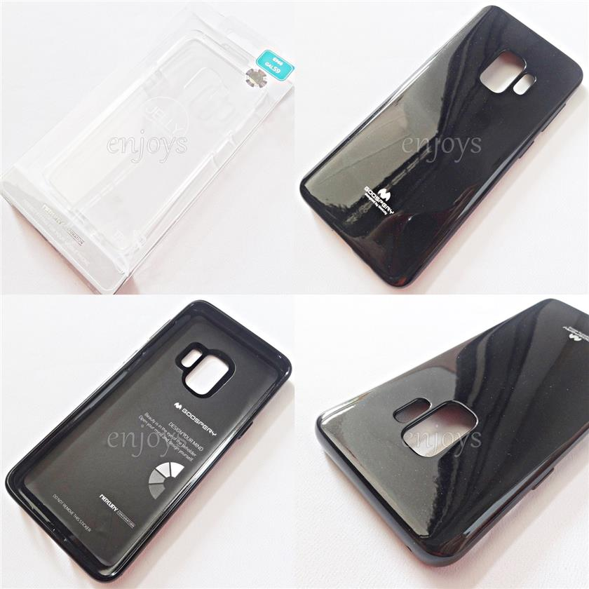 GOOSPERY Pearl Jelly TPU Case Soft Cover Samsung Galaxy S9 / G960F