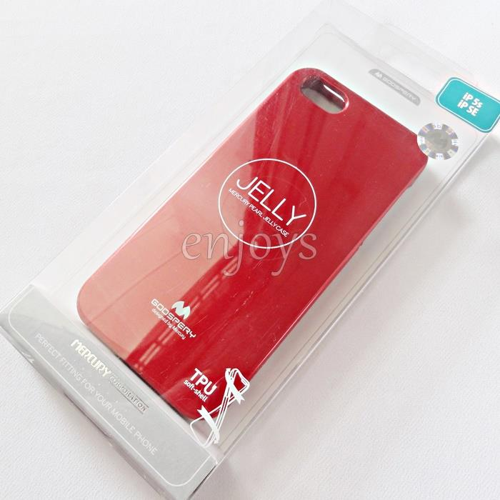 GOOSPERY Pearl Jelly TPU Back Soft Case for Apple iPhone 5 5S SE *XPD
