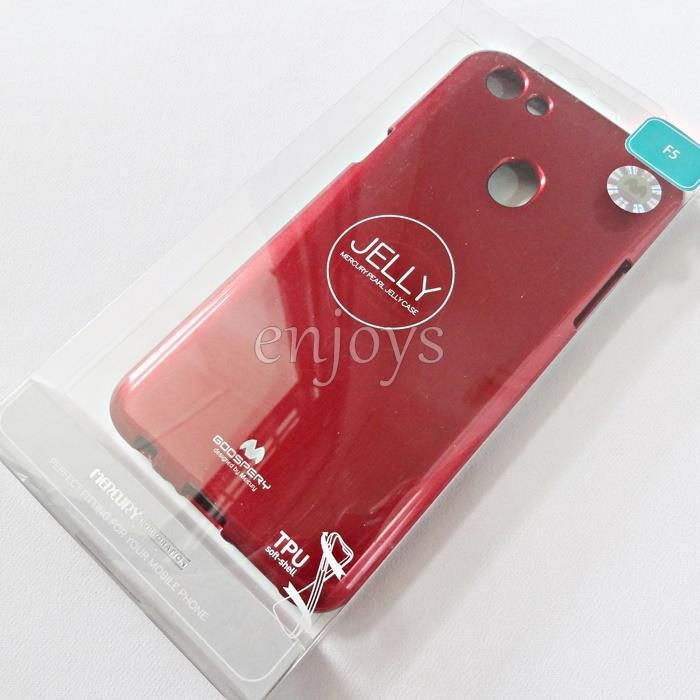GOOSPERY Pearl Jelly TPU Back Soft Case Cover Oppo F5 /F5 Youth (6.0')