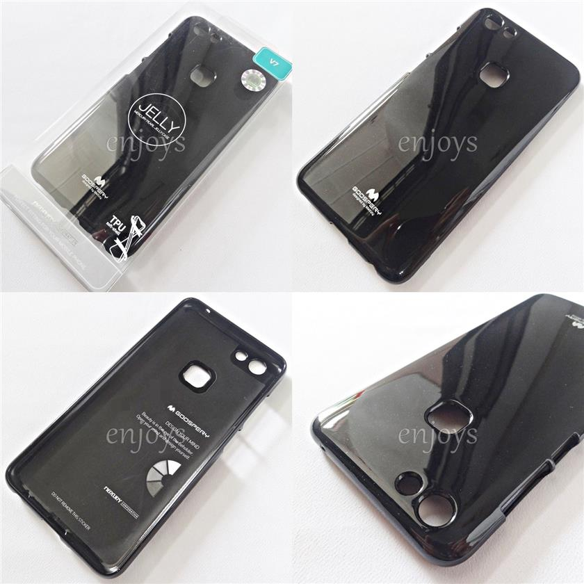 GOOSPERY Pearl Jelly TPU Back Soft Case Cover for vivo V7 (5.7)