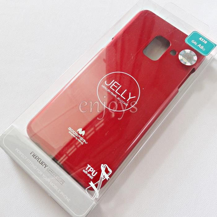 GOOSPERY Pearl Jelly TPU Back Soft Case Samsung Galaxy A8 (2018) A530F
